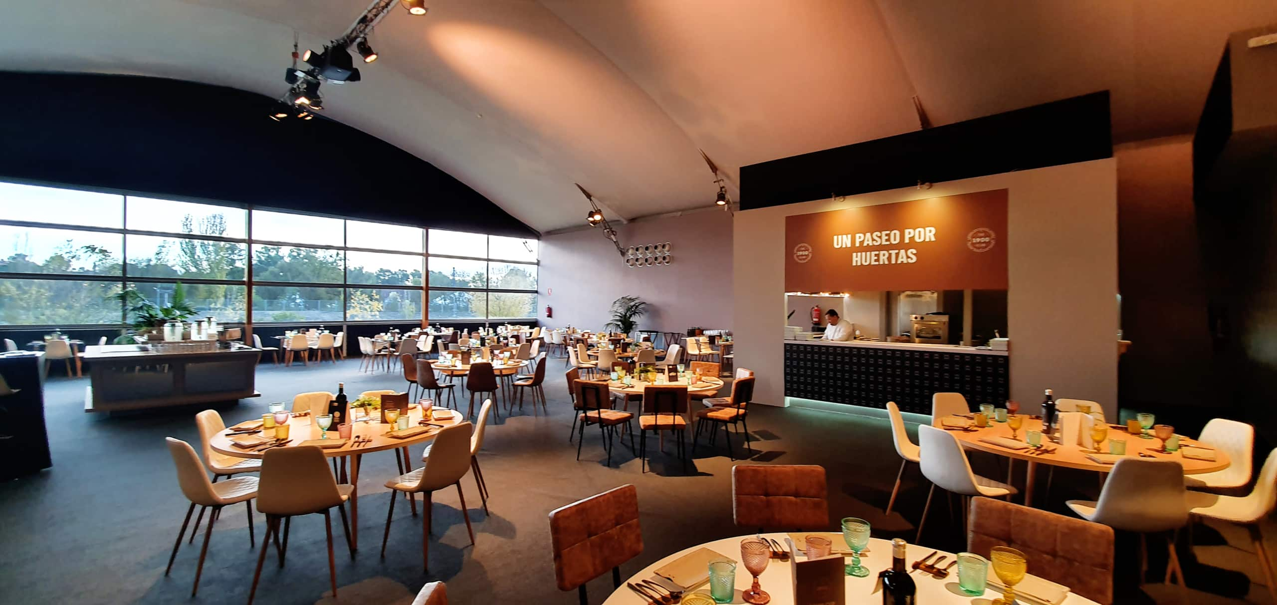 Adecuación de espacios para eventos:concepto y diseño. Montaje VIP Village. Proyecto realizado para Davis Cup Madrid Finals.