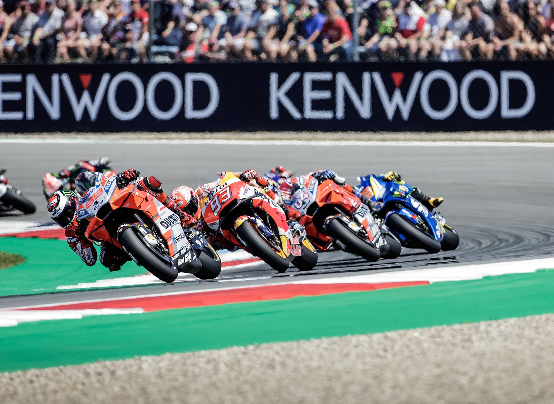 Soluciones integrales para eventos deportivos del motor. Proyecto realizado para MotoGP.